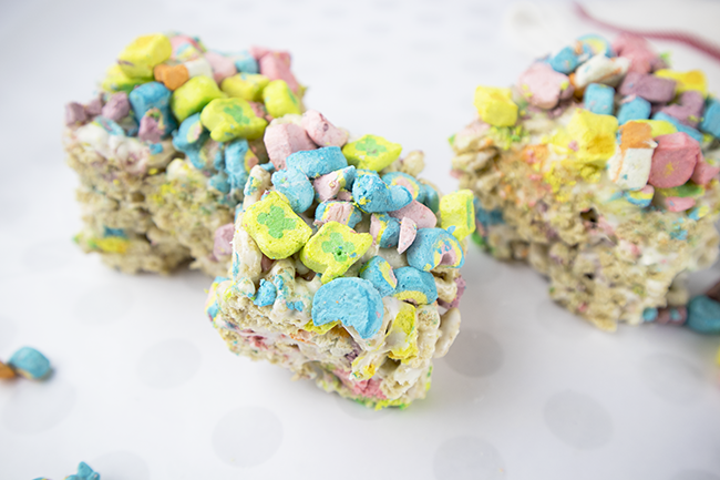 Lucky Charms Treats - Perfect for St. Patrick's Day