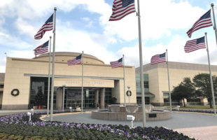 Visiting the George Bush Presidential Library in College Station, Texas