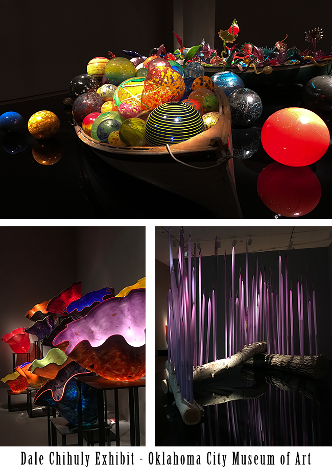 Dale Chihuly Exhibit at the Oklahoma City Museum of Art