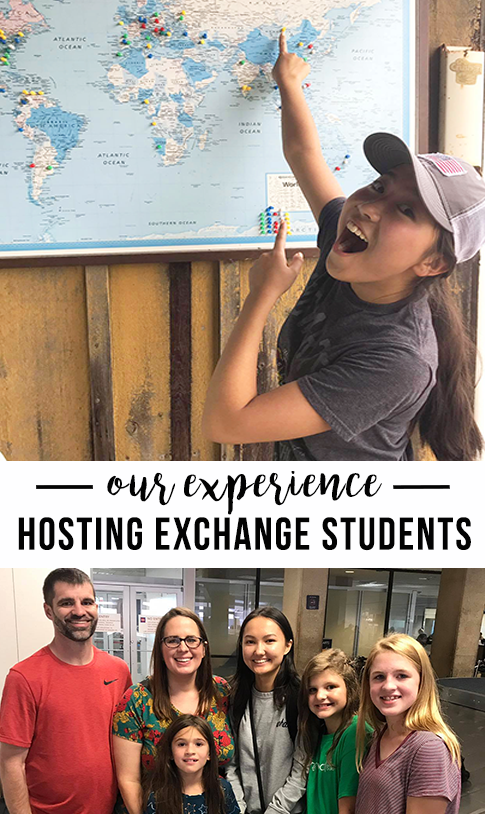 our experience hosting exchange students - and questions answered about the process