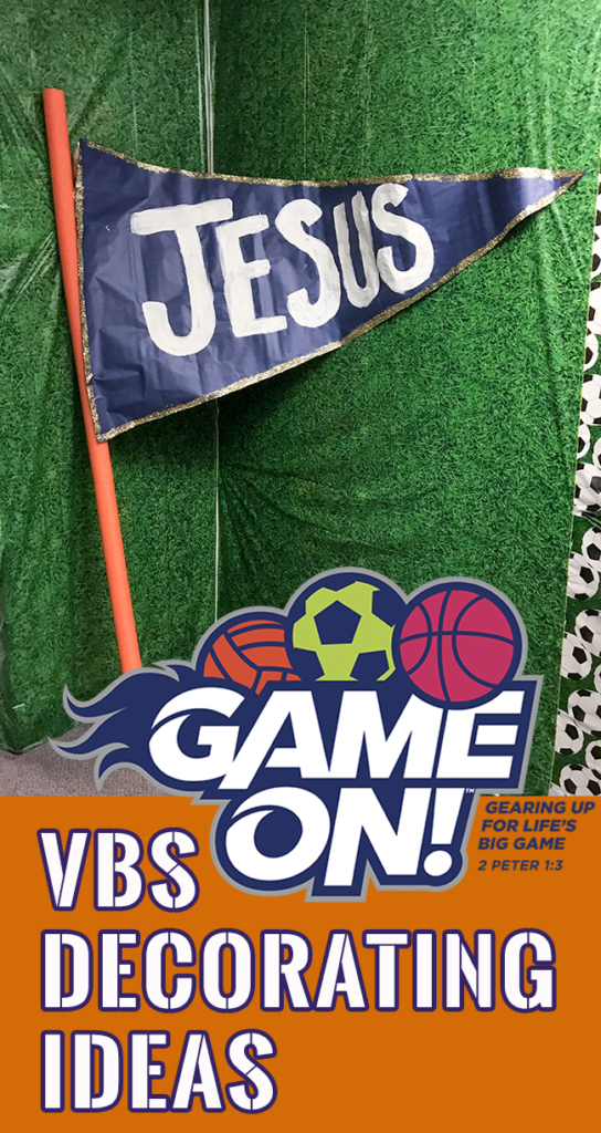 Game On Vbs Decorations Perfect For Any Sports Themed Parties Or