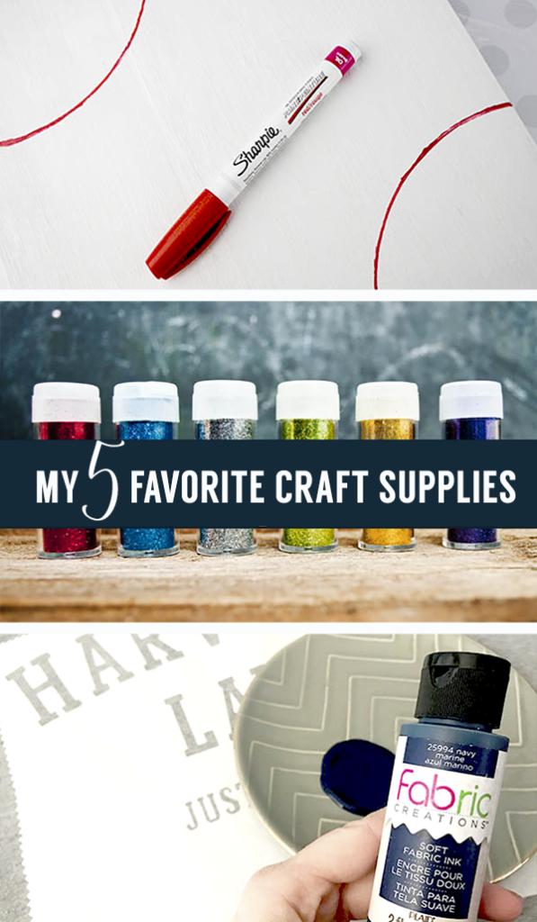 My 5 favorite craft supplies plus a secret weapon I couldn't craft without