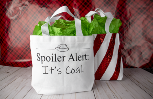 Free Christmas Cut File – Spoiler Alert: It's Coal
