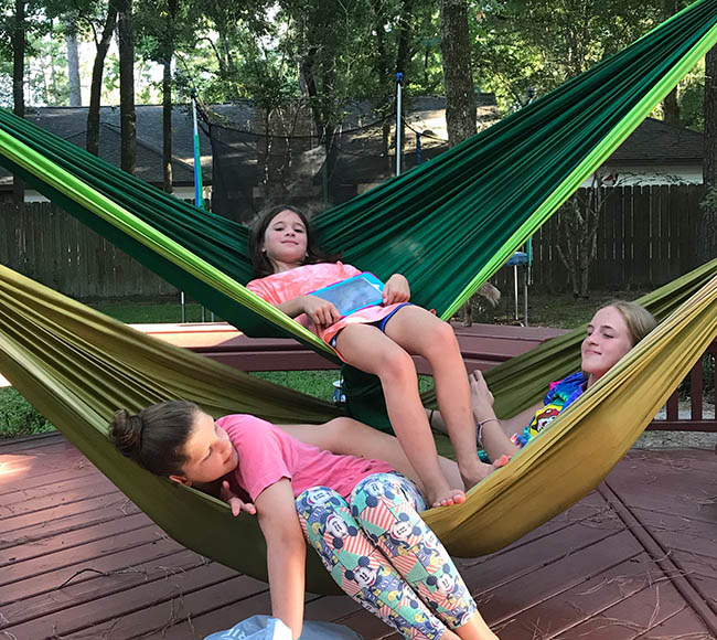 hammock family fun