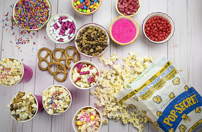 Easy and Fun DIY Popcorn Bar
