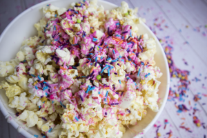 Fairy Dust Popcorn – Perfect Treat for a Girl's Birthday Party or for a Movie Night