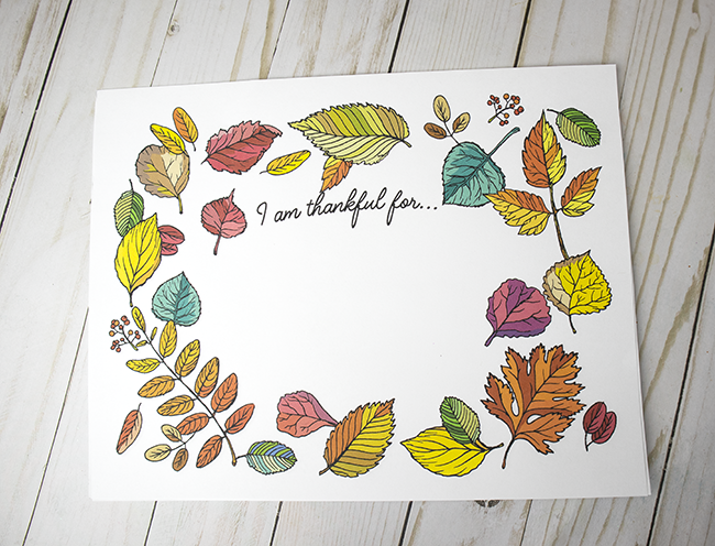 This is a graphic of I Am Thankful for Printable intended for free printable thanksgiving