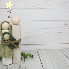 DIY Wood Block Nativity Set – You Can Make This!