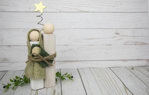 DIY Wood Block Nativity Set – You Can Make This!