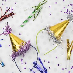Mini Party Hats – DIY Dollar Store Crafts