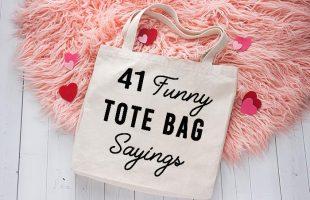 40 Funny Tote Bag Sayings