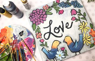Painting Is Good For The Heart