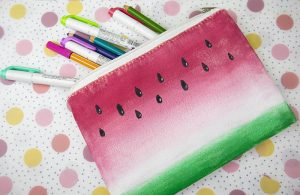Summer Fun – DIY Watermelon Bag
