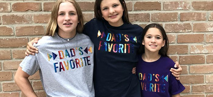 Life Lately – Father's Day DIY Shirts With All Toes Intact (For Now)