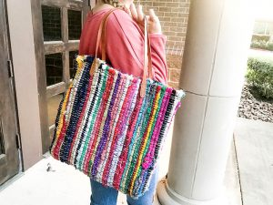 DIY Rag Rug Tote Bag – Tips, Tricks, and Why My Sewing Machine Almost Flew.