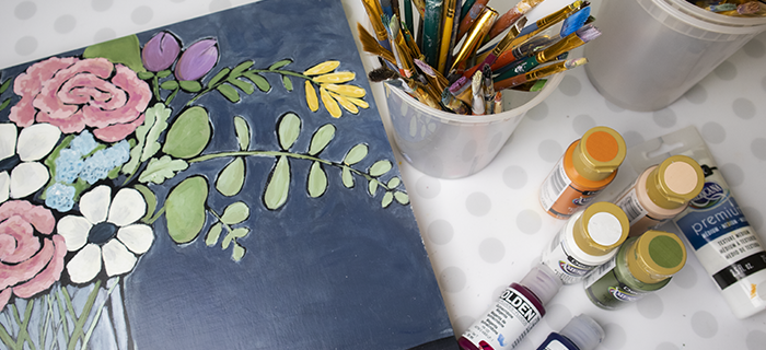 How to Paint with Acrylics – You Can Paint